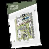 plan d'implantation du projet Quartier Général par Prével