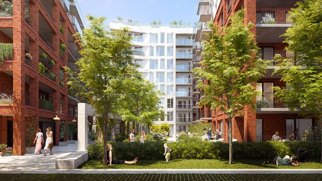 Courtyard-of-Quartier-General-condo-project-in-Griffintown-West