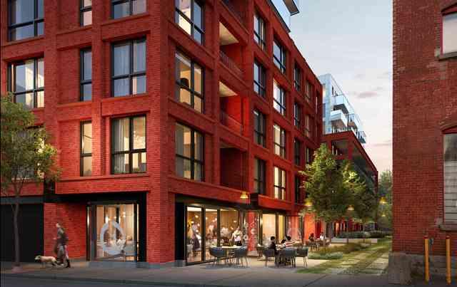 La ruelle verte de Quartier Général est bordée de terrasses et commerces sympathiques